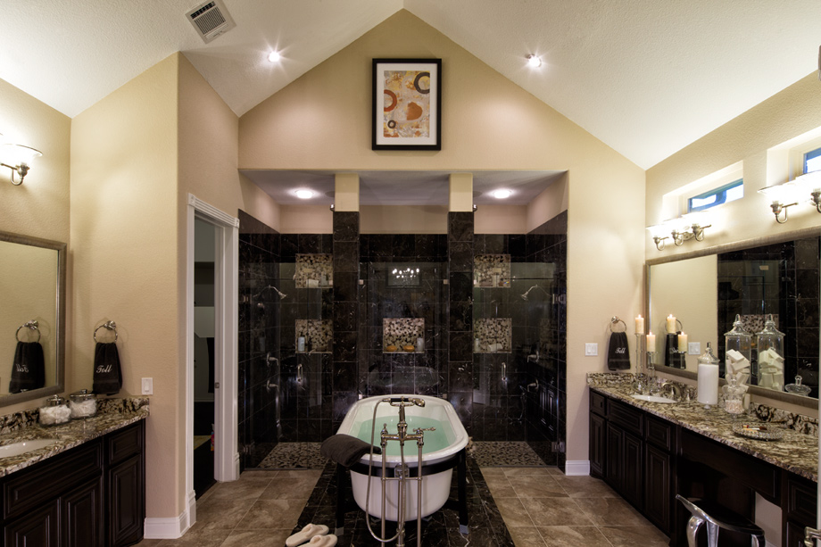 Texas luxury new homes for sale by toll brothers for Bath remodel olympia wa