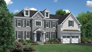 Toll Brothers - Liseter - The Merion Collection Photo