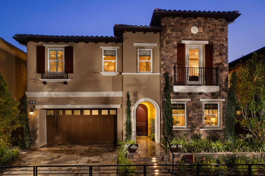 Modern Tuscan Style Houses House And Home Design