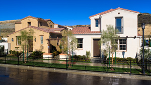 Toll Brothers - Porter Ranch - Cortile Photo