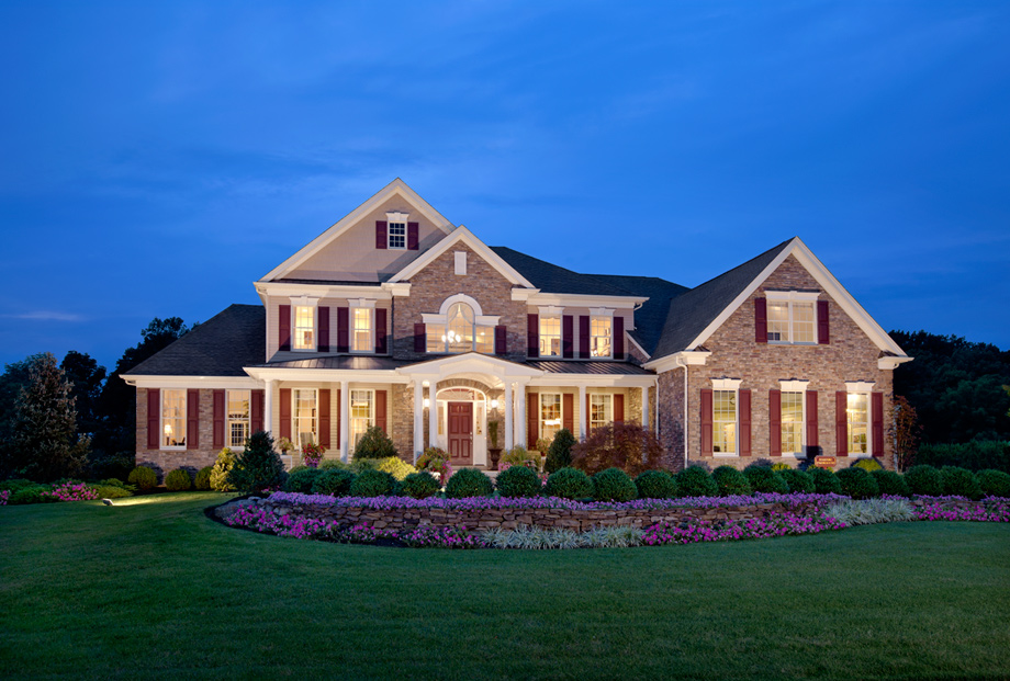 Morris hunt luxury new homes in mount olive township nj for New jersey luxury homes