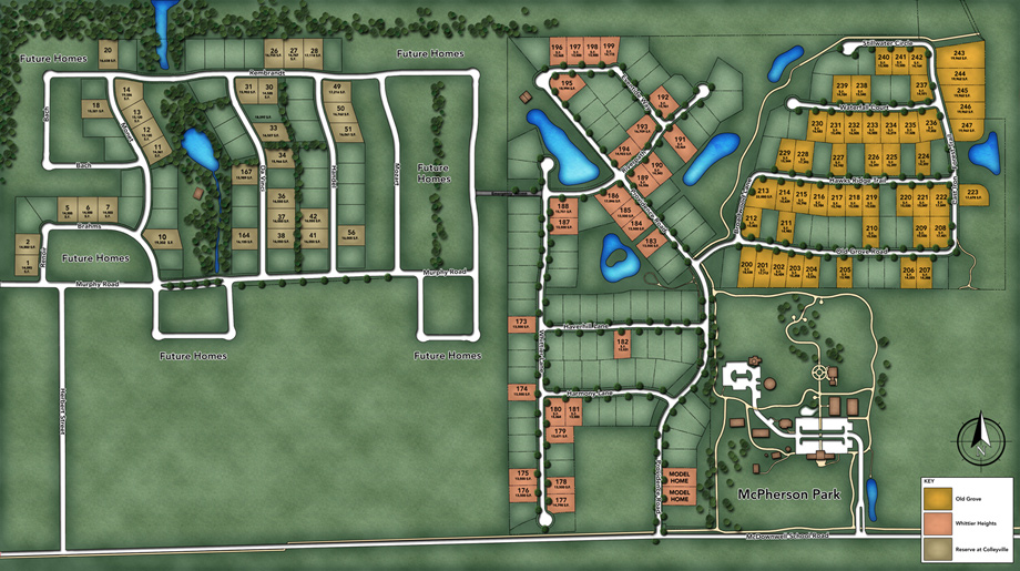 Whittier Heights Overall Site Plan