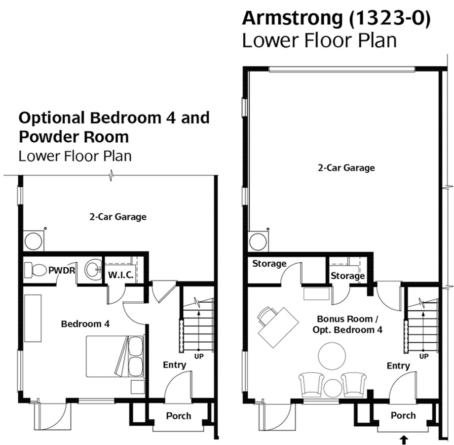 Armstrong at kimball creek townhomes luxury new homes for Armstrong homes floor plans