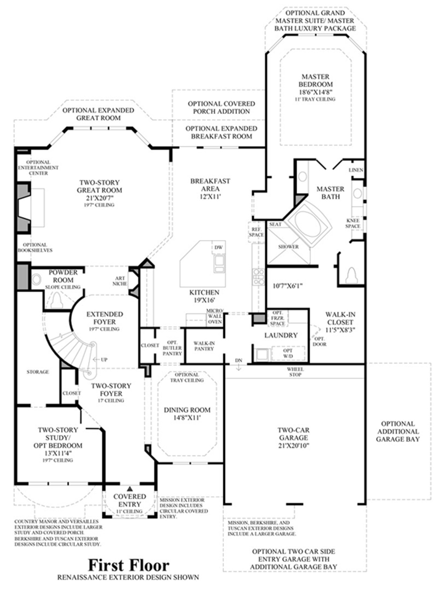 Bellerieve Floor Plan