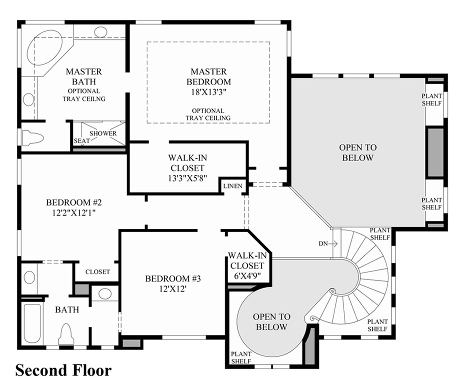 Bellvue Floor Plan