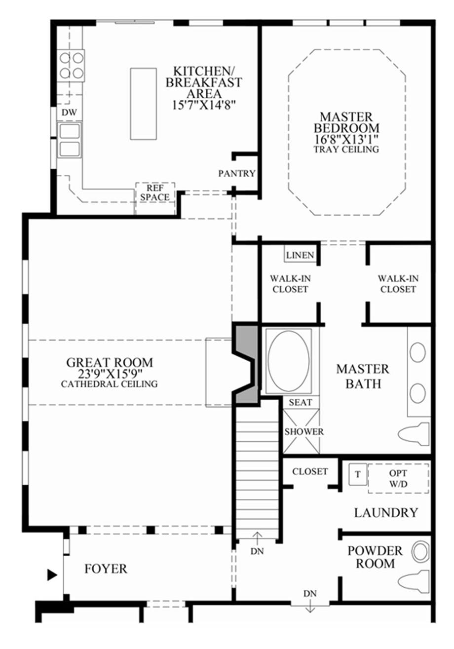 Simple kitchen design planner - Bethel At The Summit At Bethel The Regency Amp The Village Luxury