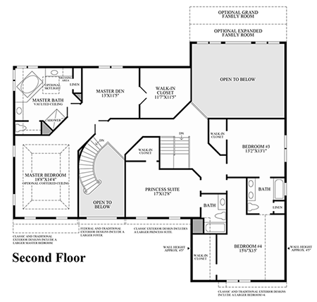 With Secondary Staircase Is Ideal For Family Living Nine