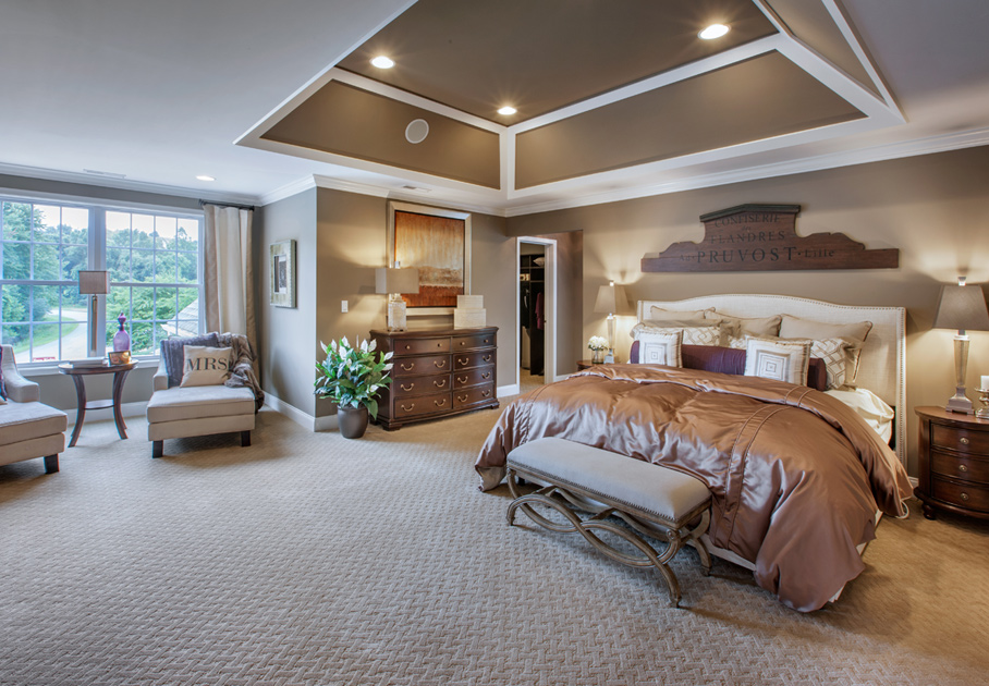 Toll Brothers At Four Corners The Columbia Home Design