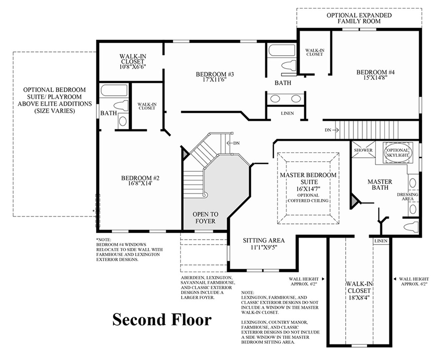 Toll Brothers Floor Plans Virginia: Columbia II At Dominion Valley Country Club