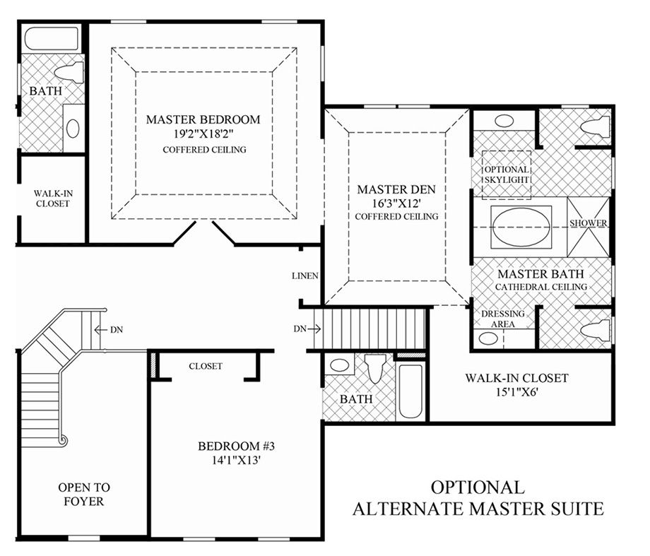 New jersey luxury new homes for sale by toll brothers for Coventry homes floor plans