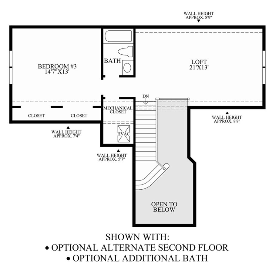 Deerfield Floor Plan