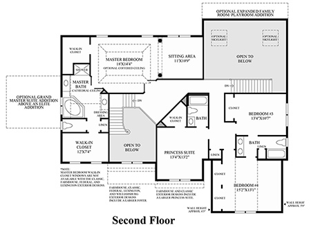 Dominion valley country club executives luxury new Dominion homes floor plans