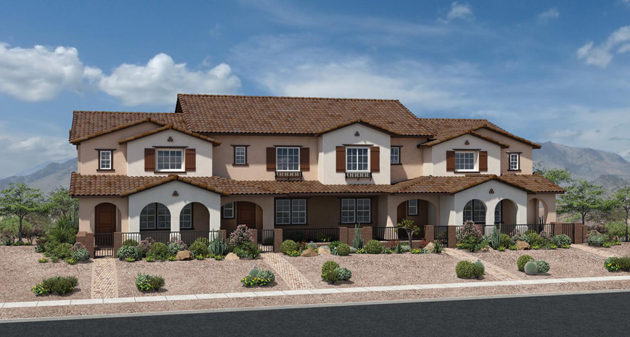 The 4-Plex Spanish Colonial - The 4-Plex Spanish Colonial