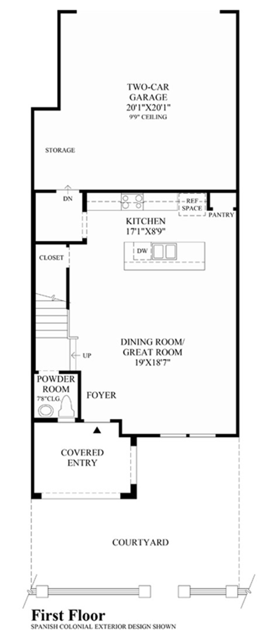 Ladera Floor Plan