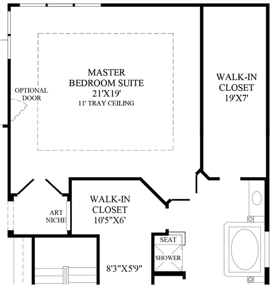 master bedroom floor plan standard hotel layout master bedroom, Bedroom decor