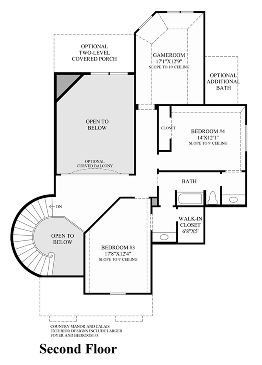 St. Thomas Floor Plan