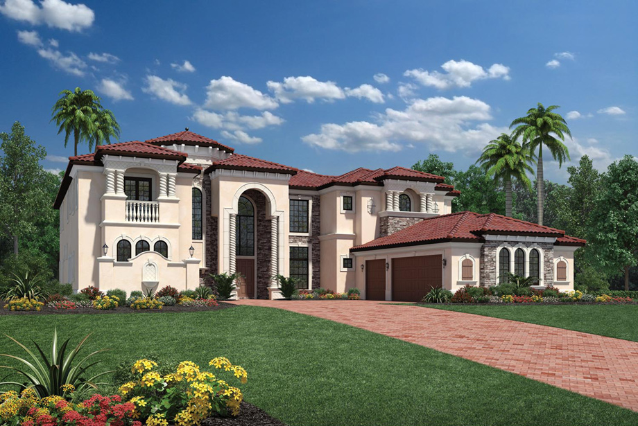 Villa Lago At Casabella At Windermere Luxury New Homes In