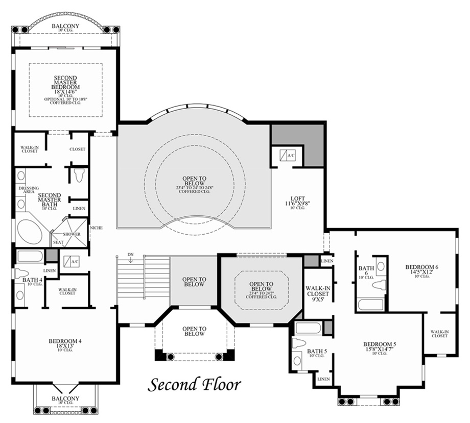 Villa Lago Floor Plan