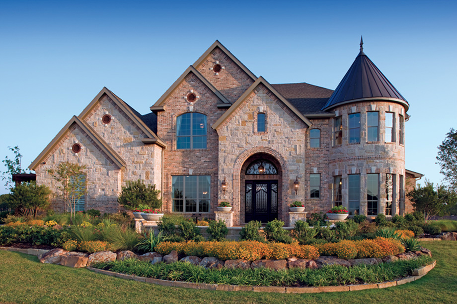 Vinton at the woodlands creekside park the estates at for Luxury homes photo gallery