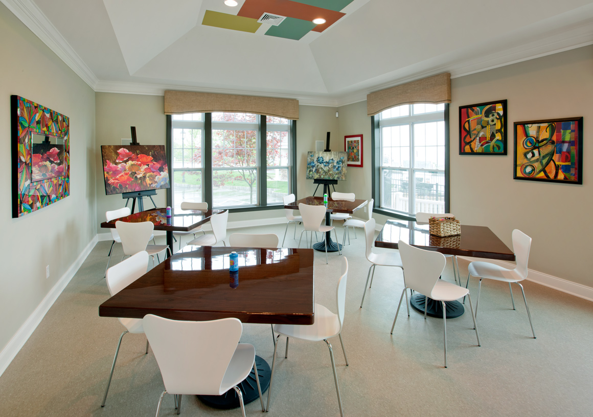 Indulge in your passions at the art studio