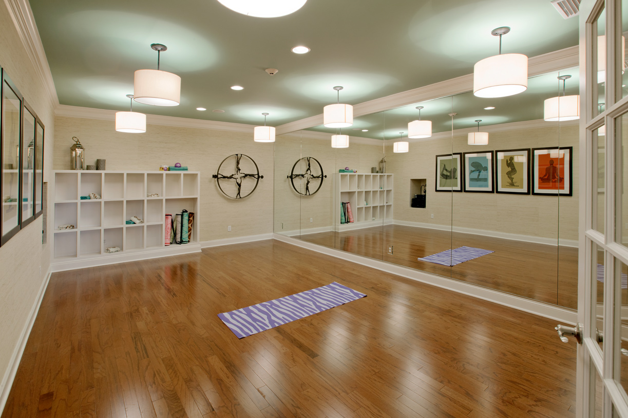 The summit at bethel the avon home design for Home yoga room design