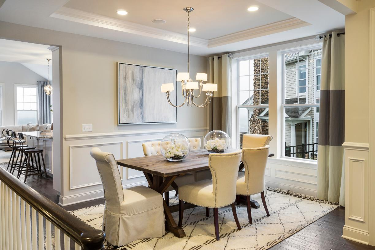 Dining room just off the kitchen perfect for entertaining guests