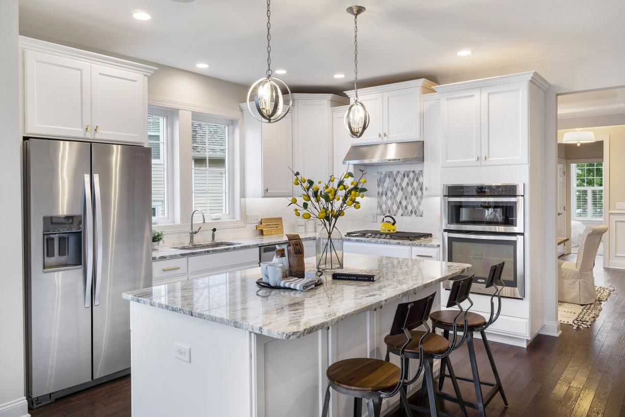 Modern, upgraded kitchen in the Bransford
