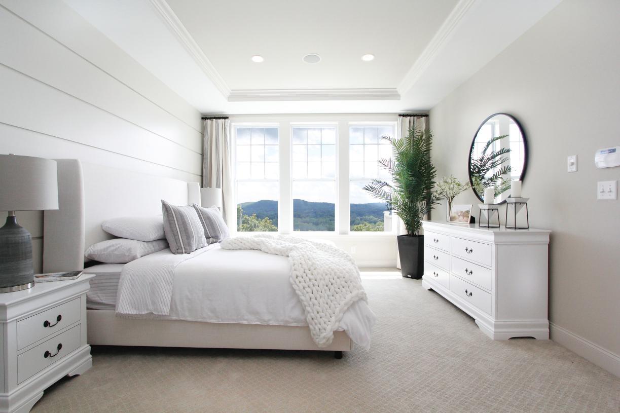 Unwind in your serene Primary Suite