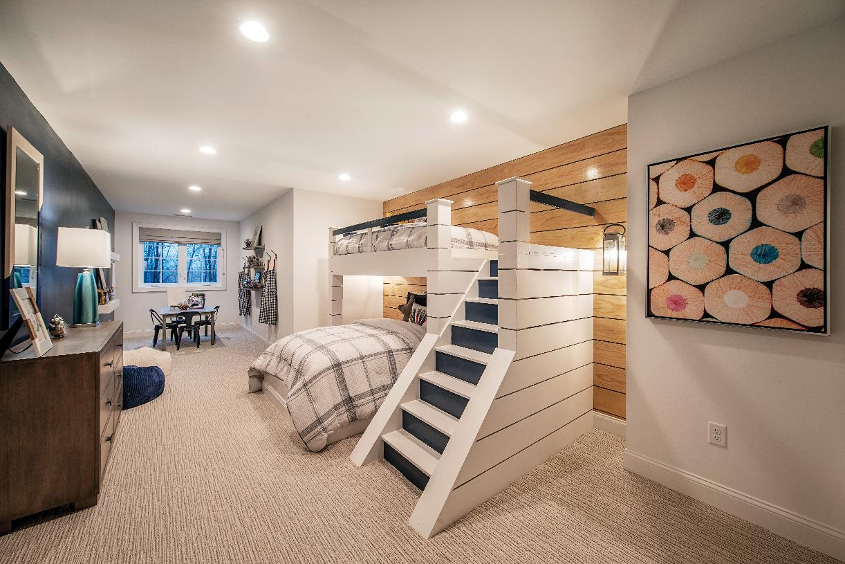 Secondary bedroom great space for the kids in your life