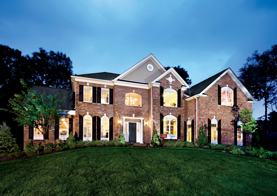 New york homes for sale 17 new home communities toll for Model houses in new york