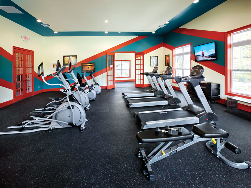 Fitness Room with State-Of-The-Art Equipment