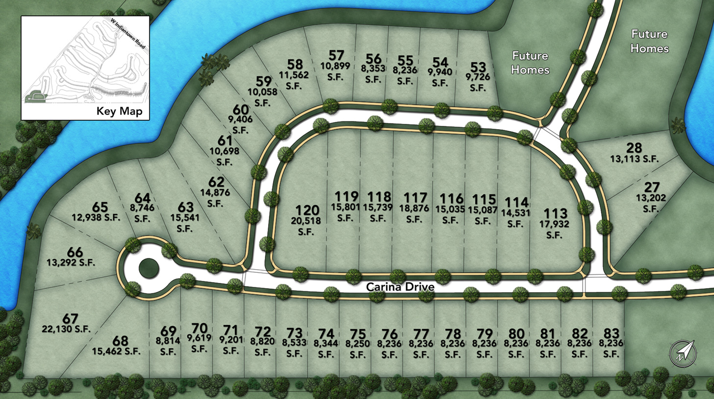 Jupiter Country Club - Golf Villas - Carina Drive