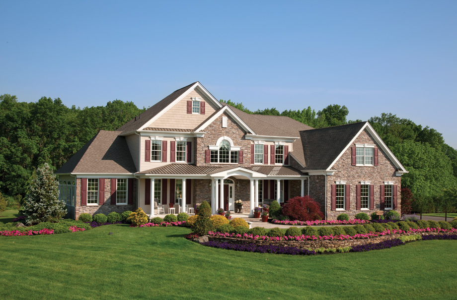 New luxury homes for sale in cream ridge nj ridings at for Model houses in new york