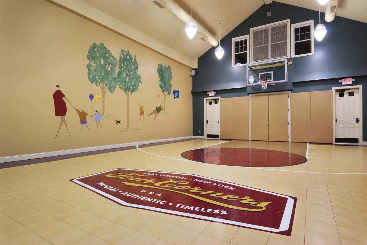 Toll brothers at four corners the columbia home design for Indoor basketball court for sale
