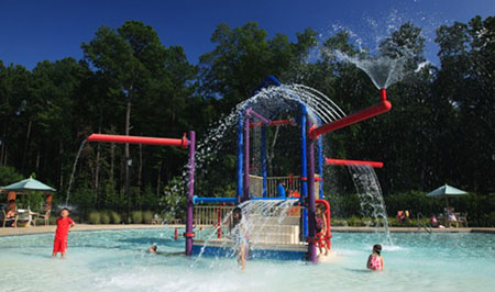 The Splash Pool at the Family Activities Club