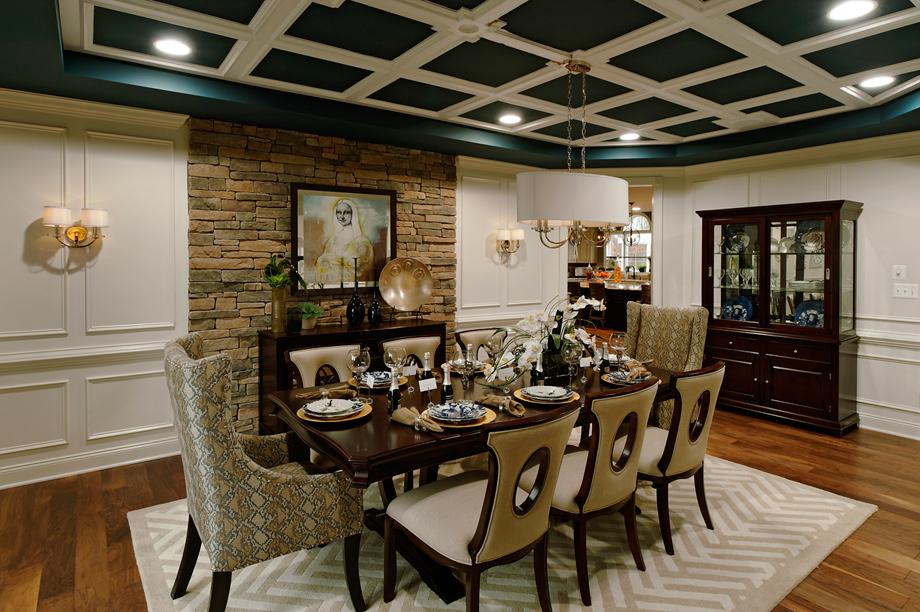 New luxury homes for sale in leesburg va shenstone reserve - Carolina dining room ...