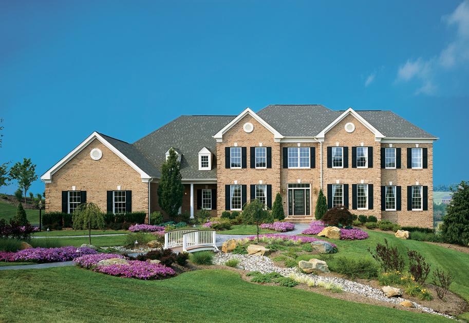 New luxury homes for sale in leesburg va shenstone reserve for Modern homes for sale in virginia