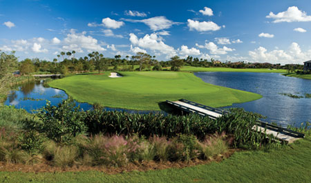Spectacular 18-hole Greg Norman designed golf course at Parkland Golf and Country Club