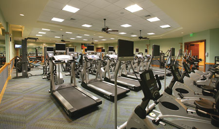 The Fitness Studio provides programming and equipment for total body maintenance