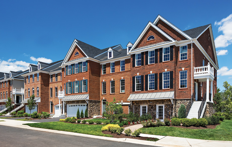 The Bradbury & Portsmouth Models - The Meadows at Loudoun Valley, Ashburn, VA
