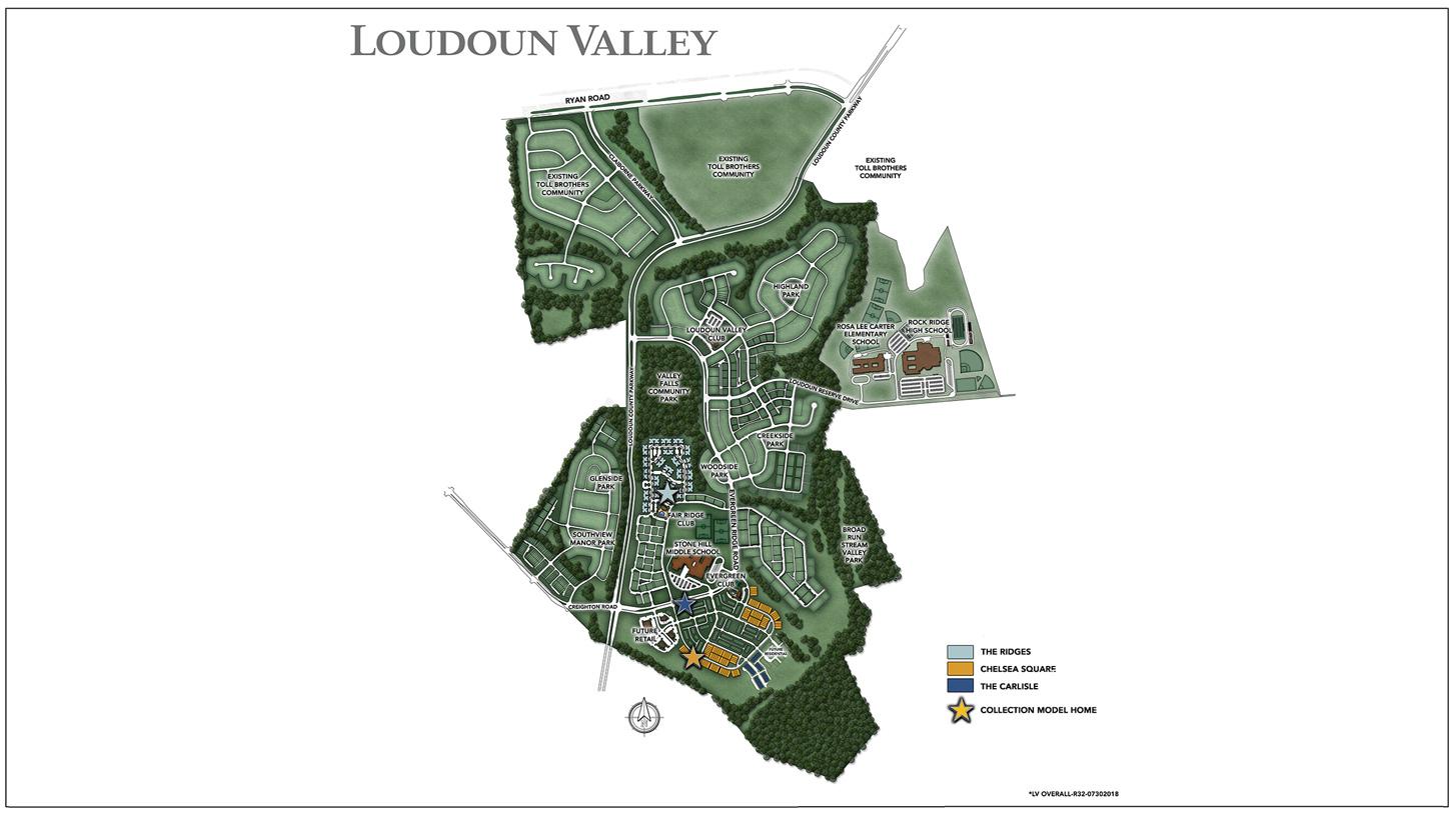Loudoun Valley Overall Site Plan