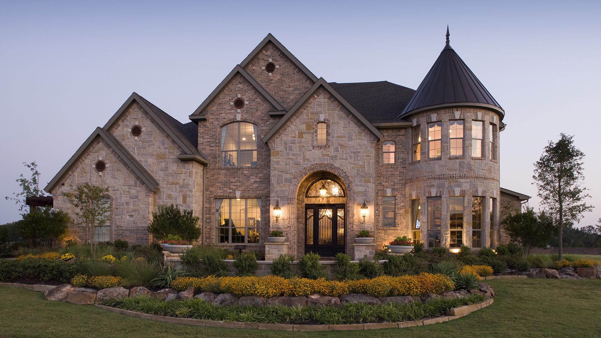 Flower mound tx new homes for sale terracina at flower mound for Homes pictures