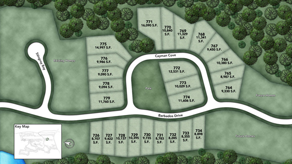 Coastal Oaks at Nocatee - Heritage Collection Barbados I Site Plan