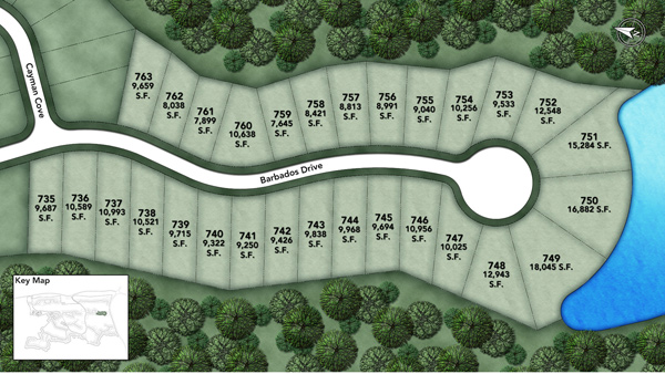 Coastal Oaks at Nocatee - Heritage Collection Barbados II Site Plan