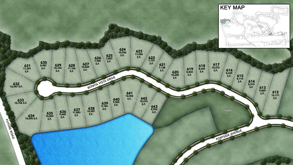 Coastal Oaks at Nocatee - Heritage Collection Bonita Vista Site Plan