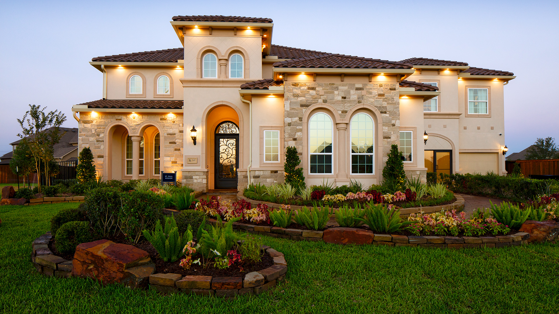 St. Paul Mission Model Home Now Open - Reserve at Katy - Katy, TX