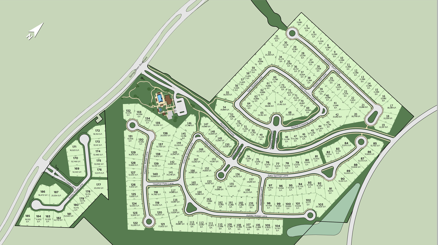 The Reserve at Katy Overall Site Plan
