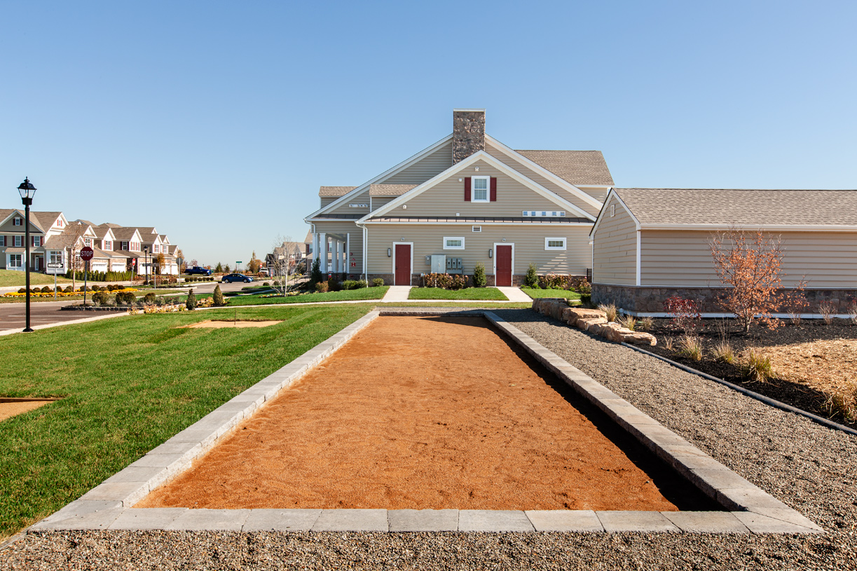Start a bocce ball league with fellow homeowners