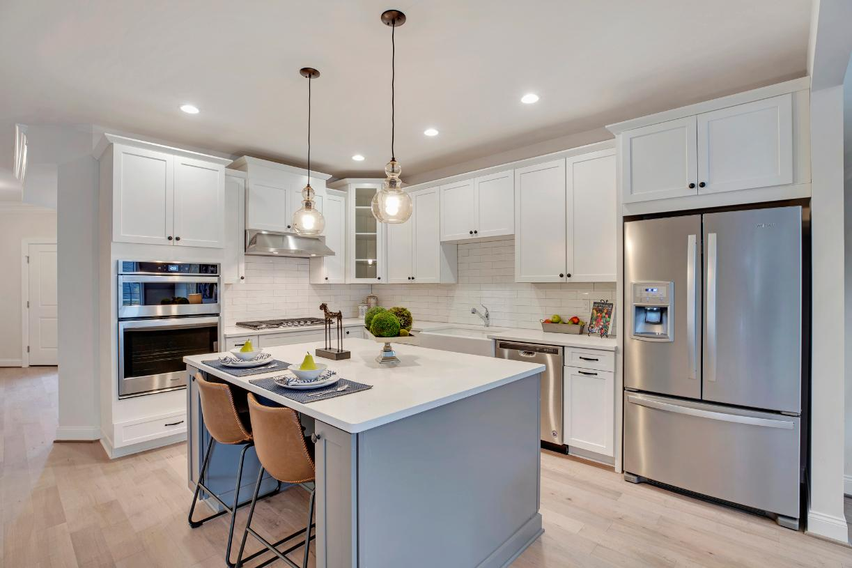 Well-appointed kitchen with stainless steel appliances