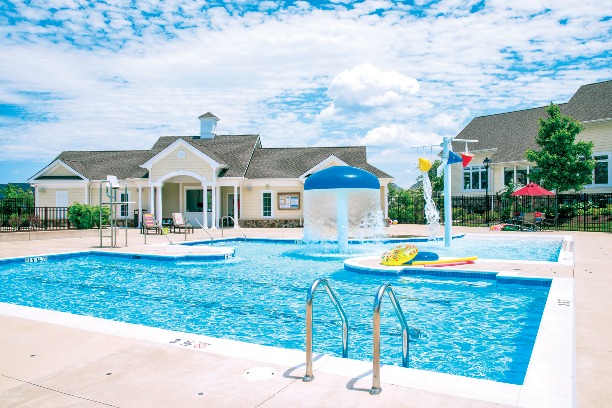 Relax by one of our resort-style swimming pools in Loudoun Valley